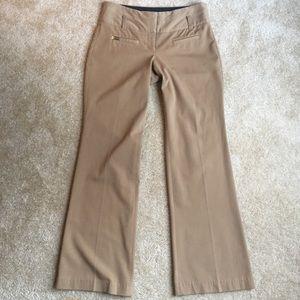 Express editor tan dress pants